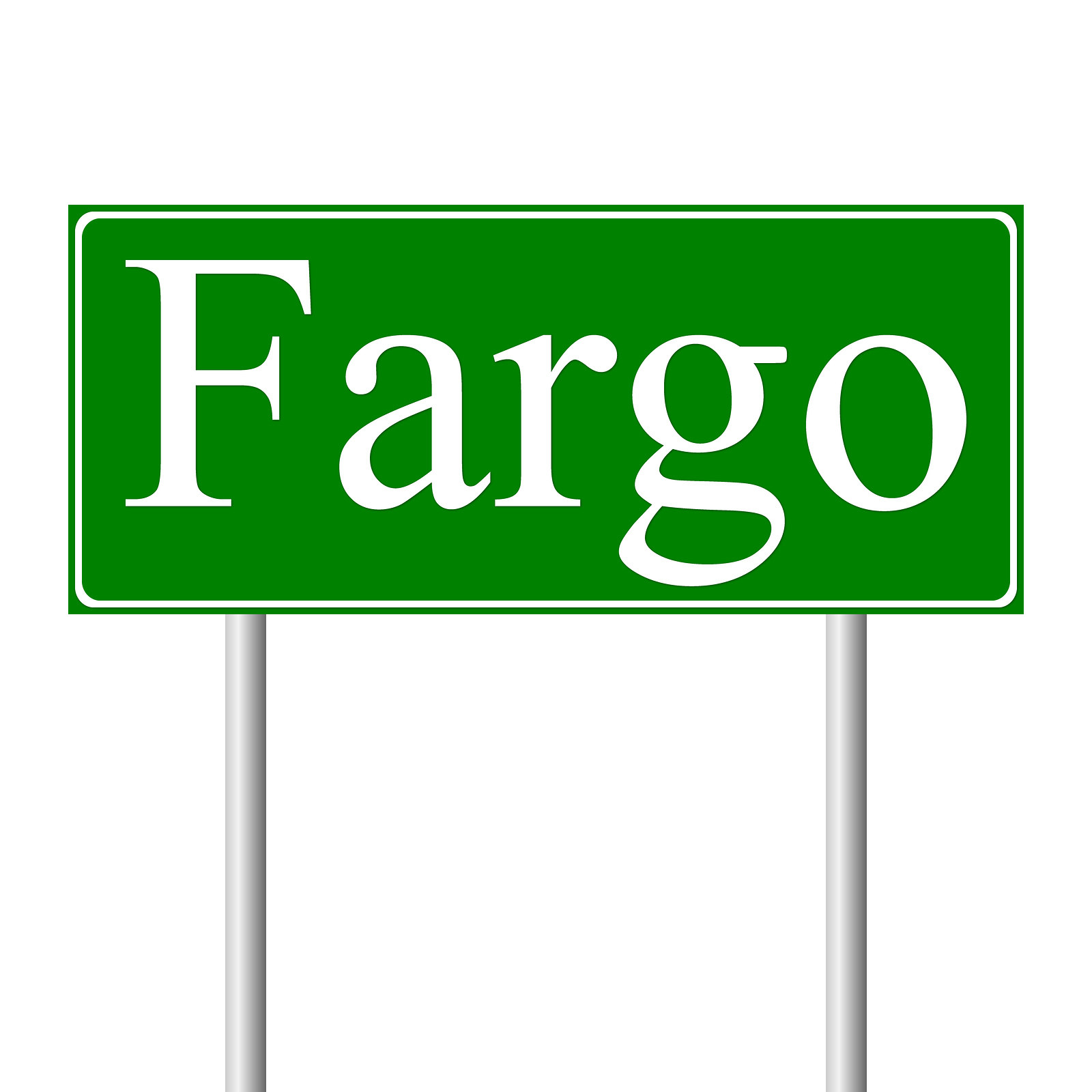 bigstock-Fargo-green-road-sign-28299044