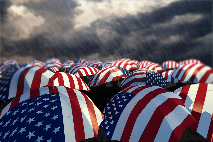 bigstock-USA-Umbrella-Flags-22714901