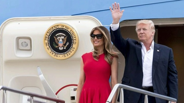 Donald Trump POTUS FLOTUS Saudi Arabia trade deals